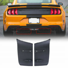 1 Pair/Left&Right Bumper Diffuser Valance Foil Kit For 2018-2019 Ford Mustang GT