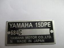 Scudo Piastra Yamaha 15A 648C Moto Bici Quad Sci D'Acqua Aussenborder s53