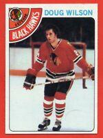 1978-79 Topps #168 Doug Wilson ROOKIE RC NEAR MINT+ Chicago Blackhawks HOF