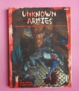 UNKNOWN ARMIES - COREBOOK 1st EDITION RPG ROLEPLAYING GREG STOLZE ATLAS GAMES 98