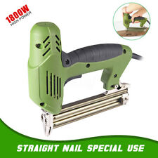 Electric Staple Nailer Stapler Straight Nail Gun Framing Finishing Air Tool