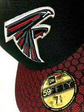 H118 NFL Atlanta Falcons New Era 59FIFTY Fitted Cap/ Hat NWT Size 7-5/8