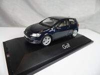hx105, Herpa 070706 VW Golf VII 2-türig / night blue metallic 1:43 NEU/NEW