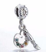 925 Sterling Silver Art Fashion 2018 European Bead Charm Diy For Bracelet Bangle