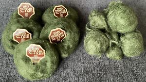 BMS Mohair No.4 Kid 90% Mohair Knitting Wool/Yarn (5x20g+125g). Dark Green