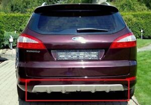 FORD MONDEO 4 MK4 2007-2010 ESTATE TITANIUM LOOK REAR BUMPER VALANCE - SPOILER