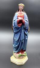 Madonna, Heiligenfigur, 19. Jahrhundert geschnitzt