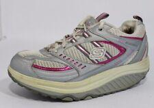 Skechers shape ups women's shoes lace up walking work size 7.5