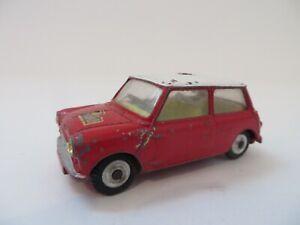 Corgi Toys No.317 Morris Mini-Cooper Rally RARE!! Diecast England