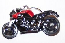 CUSTOM MADE..BMW K 1300 R MOTORCYCLE (BLACK/BURGUNDY) KEYCHAIN..GREAT GIFT!