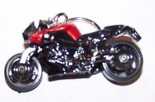 CUSTOM MADE..BMW K 1300 R MOTORCYCLE (BLACK/BURGUNDY) KEYCHAIN..GREAT GIFT!