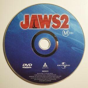 Jaws 2   DVD Movie   Horror   Roy Scheider, Lorraine Gary   *Unoriginal Case*