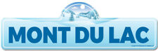 Mont Du Lac Street Sign | Snowboarder, D�cor for Ski Lodge, Cabin, House