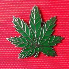 CANNABIS HEMP LEAF WEED POT MARIJUANA DRUG HERB HASH HASHISH BELT BUCKLE