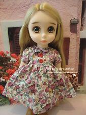 "Doll Clothes ~ Fit For Disney Animators 16"" Toddler Doll Print Dress 1PCS #DC-06"