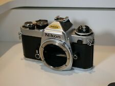 Nikon FE 35mm SLR Film Camera Body Mint condition