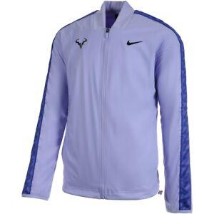 Nike Court Rafa Nadal Purple Full Zip Tennis Jacket Sz XXL NEW CI9135 531 RARE
