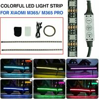 Colorful LED Light Strip Bar Lamp For Xiaomi M365 / M365 Pro Electric Scooter