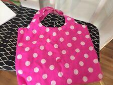 Pink Polka Dot Tote Shopping Bag NEW