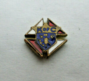 Vintage K of C Knights of Columbus Small Lapel Pin