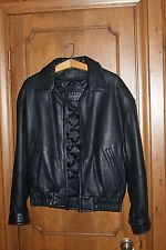 Studio Andrew Marc For Tannery West lambskin Leather Jacket Men's S
