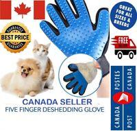 Pet Dog Cat Grooming Deshedding Glove Hair Remover Magic Brush for Gentle Bath