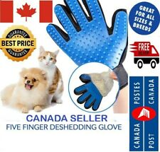 Pet Dog Cat Grooming Deshedding Glove Hair Remover Magic Brush for Gentle CA SLR
