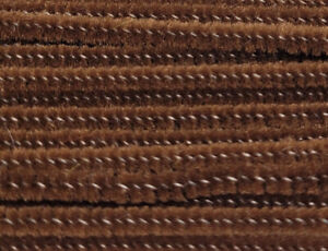 """Lot of 100 Brown Wired Chenille Stems Craft Pipe Cleaners 12"""" x 3mm 1/8"""""""