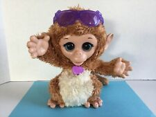 "Fur Real Friends Cuddles My Giggly Monkey 8"" Interactive Toy Hasbro 2013 Euc"