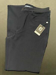 1 NWT FOOTJOY MEN'S PERFORMANCE PANTS, SIZE: 36 X 32, COLOR: NAVY (STZ2)