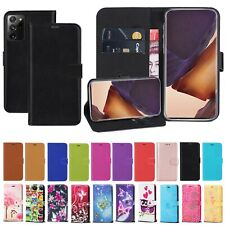 For Samsung Galaxy Note20 Note20 Ultra 5G PU Leather Wallet Flip Case Cover