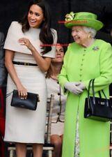 Queen Elizabeth Photo 4x6 Meghan Markle Duchess of Sussex Royal England