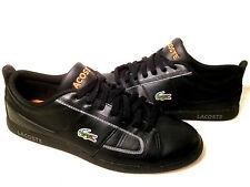 Lacoste Men's Casual Black Sports Sneaker Shoe Size US. 9 US.