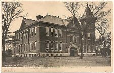 Washington School in Ottawa KS Postcard 1907
