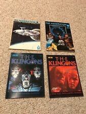 Lot of FASA Star Trek RPG Klingons, The Federation, Federation ship recognition