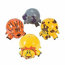 1pc - Inflatable Zoo Animal Shaped Beach Ball Birthday Party Favours Loot Filler