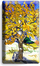 Vincent Van Gogh Mulberry Tree Painting Light Dimmer Cable Wall Plates Art Decor