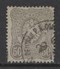 1875 Deutsche Post in der Türkei 50 Pfennige  Vorläufer - CONSTANTINOPEL -
