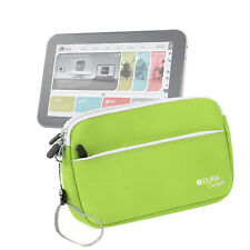 Lime Green Neoprene Case For Toshiba AT200 / AT200-100 10.1 Inch Tablet PC