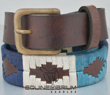 ARGENTINIAN Gaucho Style Polo Leather Belt With Free Key Ring by EQUINELIBRIUM