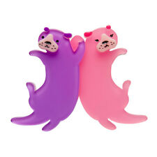 Erstwilder Eric's Otters Brooch Collectible Jewellery Accessories