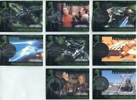 STAR TREK  NEMESIS TECHNOLOGY SET T1 TO T8   8 CARD CHASE SET by RITTENHOUSE