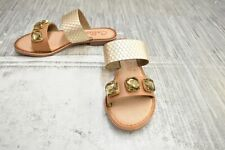 **Callisto Wrigley Sandal, Women's Size 6, Gold NEW