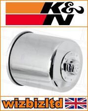 K&n Alto Rendimiento Moto Cromo Filtro de Aceite KN303C