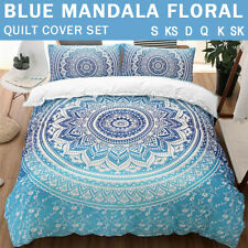Oriental Mandala/Doona/Duvet/Quilt Cover Set Single/Double/Queen/King Size Bed