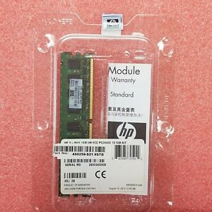 450259-B21 - HPE 1GB (1x1GB) Dual Rank PC2-6400 (DDR2-800) Unbuffered Memory Kit