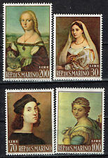 San Marino Art Raffaello Famous Paintings set 1970 MLH
