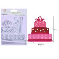 Birthday Cake Metal Die Cutting Dies Scrapbooking Embossing Folder Paper Craft