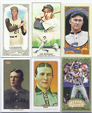 MASSIVE LOT 100+ HALL OF FAME PLAYERS! OVER 230 CARDS! MAYS MANTLE RIPKEN & MORE