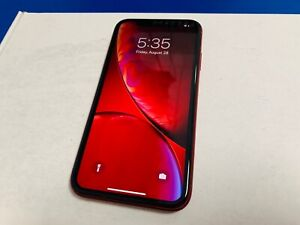 Apple iPhone XR 128 GB - AT&T Locked - A1984 - Product Red Great Condition